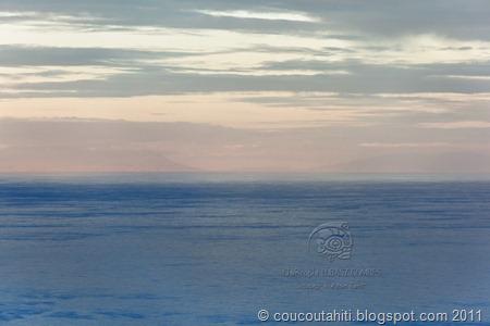 Zoom sur les îles soeurs du Sud.