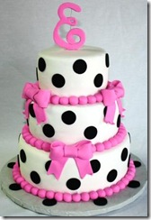 Tiered-Polka-Dots-and-Bows-Baby-Shower-Cake