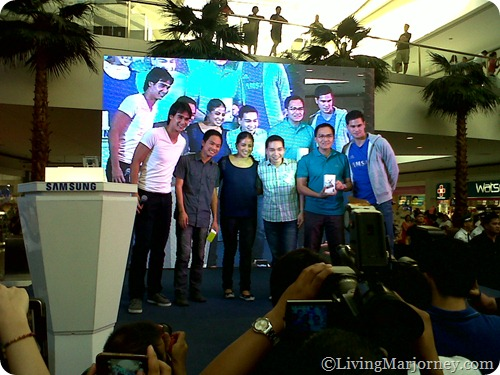The Samsung Galaxy Note II Launch at SM MOA