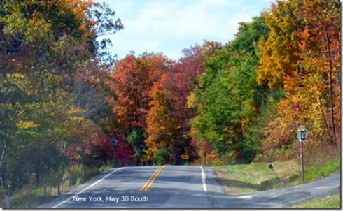 New York, Hwy 30 South