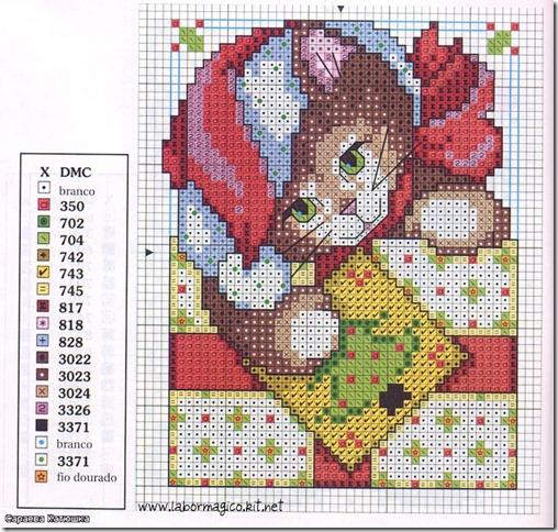 gato-natal-grafico-ponto-cruz-esquema