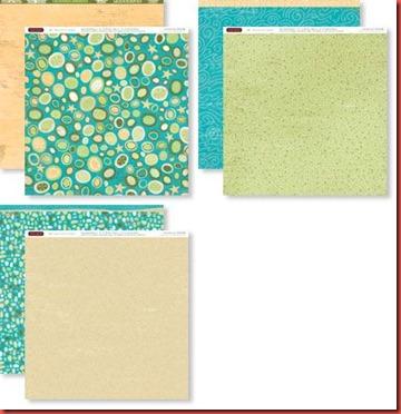 Footloose Paper pack X7151B
