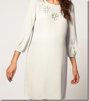Embellished shift dress1