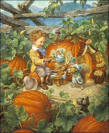 Scott Gustafson pumpkin eater