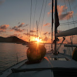 Sunset The End of a Beautiful Day in the BVI