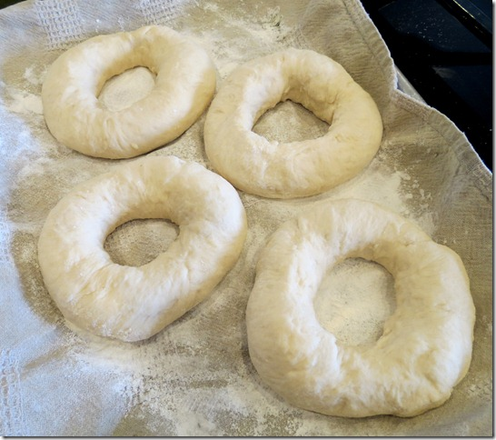 unbaked bagels