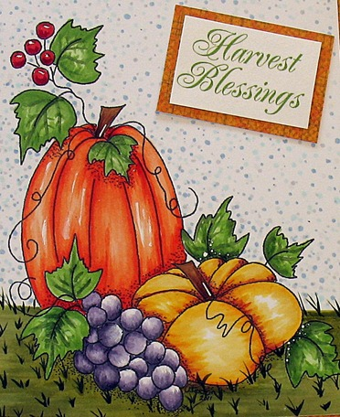 Harvest Blessing close up
