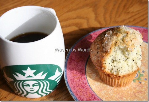 Starbucks Breakfast Blend & Muffin
