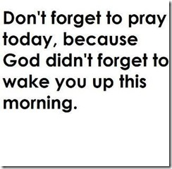 dontforget to pray