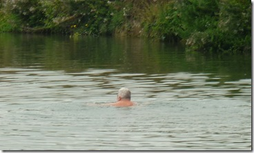 swimmer near benson