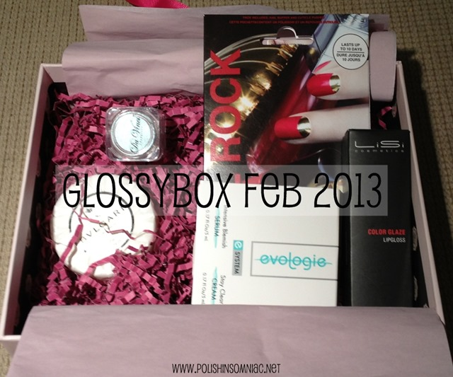 Glossybox Feb 2013