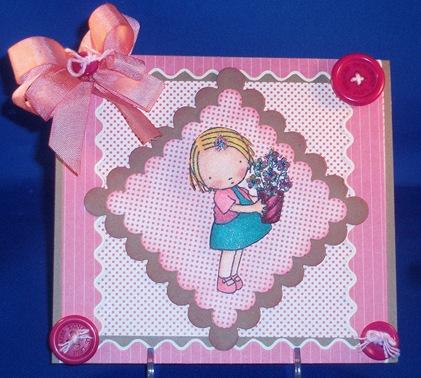 LittleGirl with Potted Flowers_Flower Soft