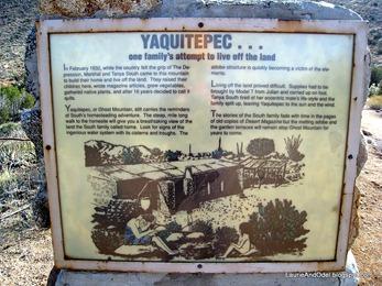 Yaquitepec sign