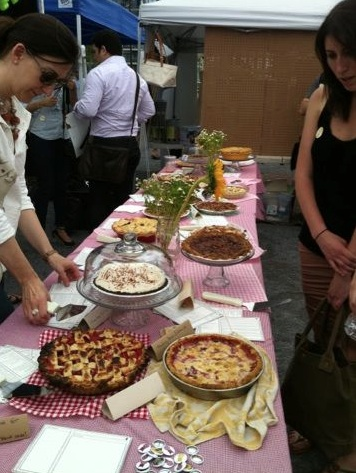 Some of the market's delicious food.