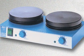 placa calefactor 2 puesto