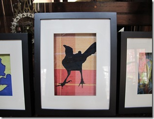 shadow box angry crow