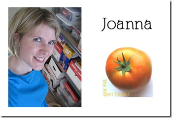 Joanna - The Project Corner