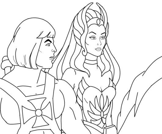 she-ra coloriage coloring