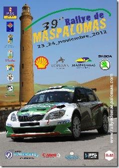 CARTEL RALLYE DE MASPALOMAS 2012_233x330