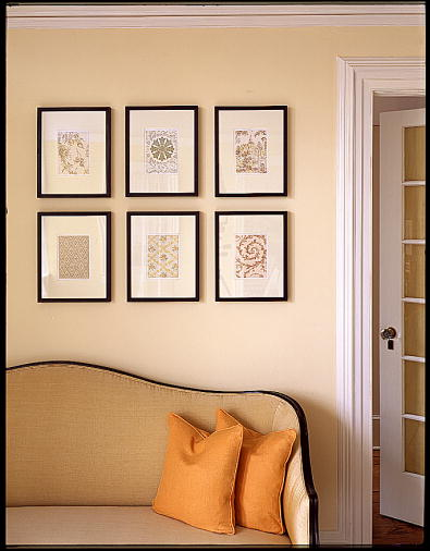 Some wallpapers stand well on their own as art. (Martha Stewart Living, September 2000)