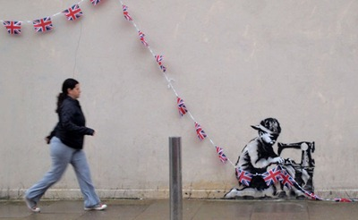 olympic banksy