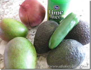 mangoGuac Ingredients