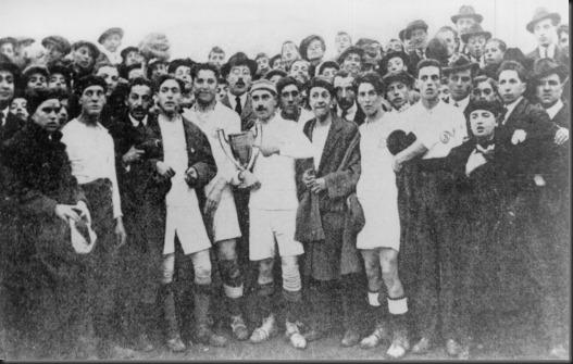 Alcocer con la 1ª Copa de Andalucia
