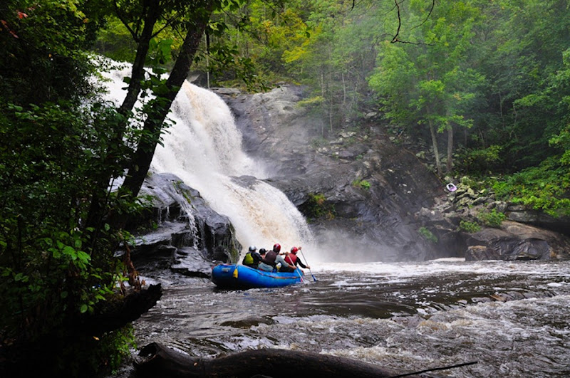 Kayak bald river falls