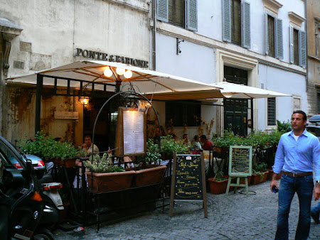 Unde sa mananci in Roma: Ponte e Parione