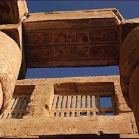 36.- Sala hipóstila del templo de Karnak