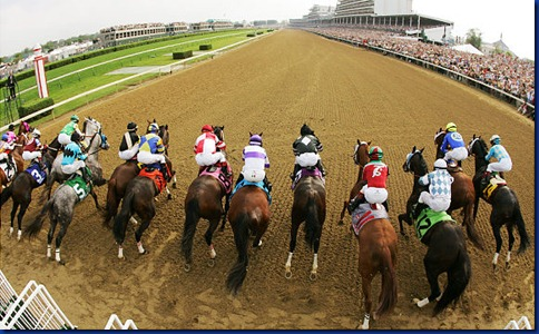 Kentucky Derby Start