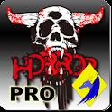 Skull Clock Pro icon