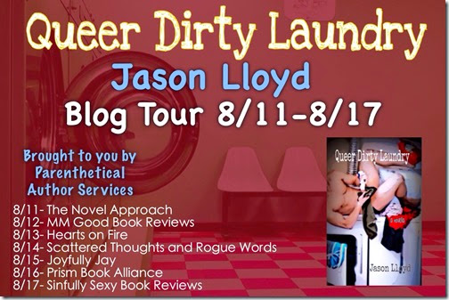 Jason Lloyd QDL Blog Tour Banner