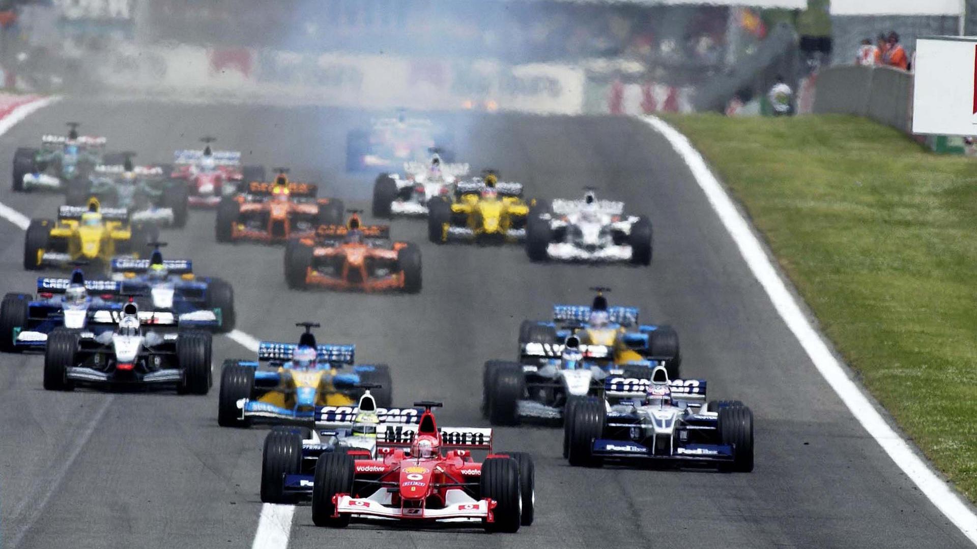 GP da Espanha de Formula 1, Catalunha em 2002 - by F1-Fansite.com