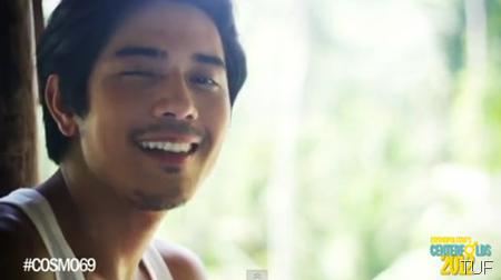 Paulo Avelino in Cosmo 69 Bachelors music video