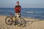 Użytkownik ArteQ i Scottcinka nad Bałtykiem