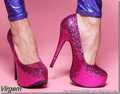 sapatos dos signos  - virgem