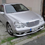 german mercedes benz in hiroshima in Hiroshima, Hirosima (Hiroshima), Japan