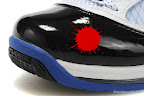 zlvii fake colorway white black blue 1 11 Fake LeBron VII