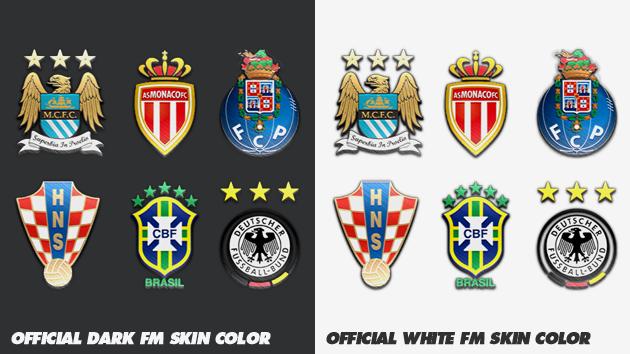logos dark white