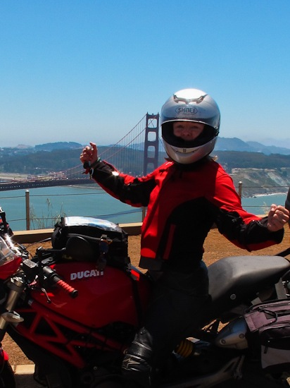 Ducati Meets the Golden Gate Bridge