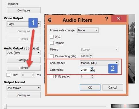 avidemux-configurazione-livello-audio