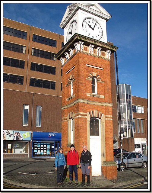 Starting outside Altrincham&#39;s Clock Tower