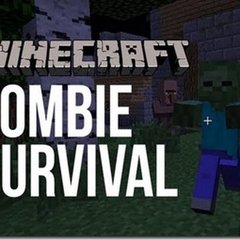Minecraft 1.2.5 - Zombie Hunt Mod 1.2.5