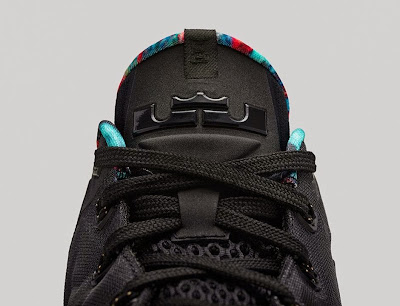 nike lebron 11 low gr black hyper crimson 4 11 Release Reminder: Nike LeBron 11 Low Acid Lion