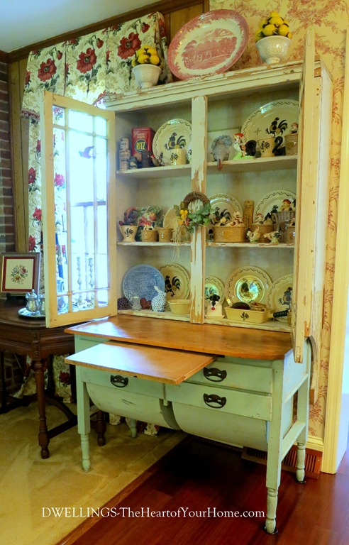 Anqitue Cupboard - ANTIQUE KITCHEN CUPBOARD DWELLINGS-The Heart Of Your Home