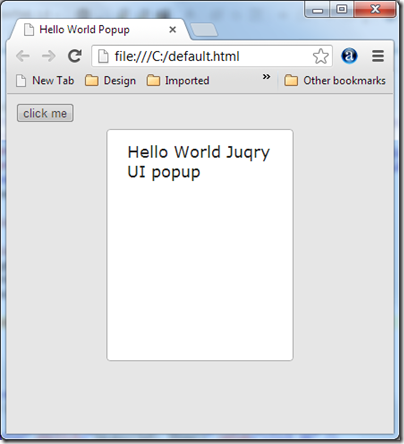 how to hide jquery UI dialog box title bar Now hidden