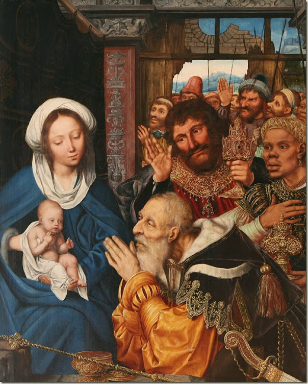 Quentin Massys, Adoration des Mages 1526