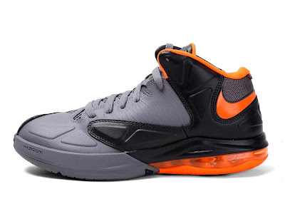 nike air max ambassador 5 gr black grey orange 1 02 Nike Drops Matching Lava Colorway for Air Max Ambassador V