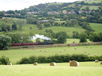 NYMR Steam train